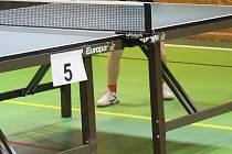 Stolní tenis ilustrační