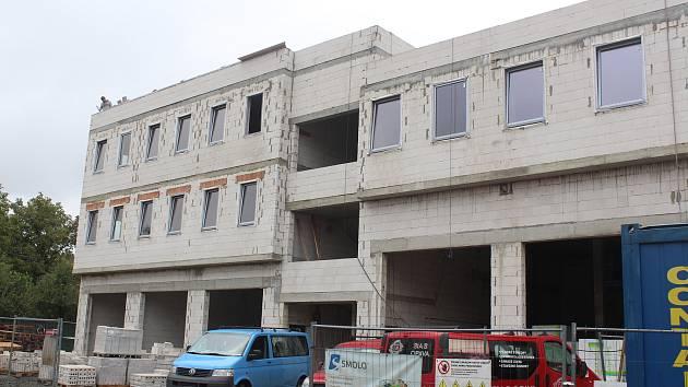 V Jablunkově vzniká nová budova integrovaného výjezdového centra.