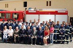 Oderští hasiči v roce 2009. Tento sbor patří k nejstarším v České republice.