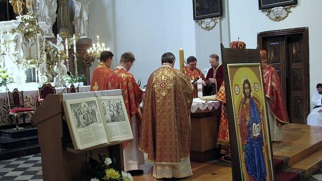 Řečkokatolická mše. Ilustrační foto.