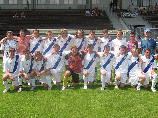 Fotbalový dorost Frýdku-Místku.