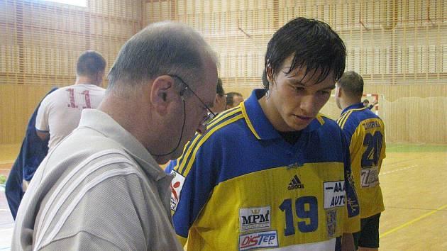 Lubomír Kavka (vlevo).