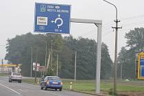 Stávající silnice I/11 v Třinci-Oldřichovicích.