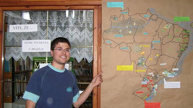 Student Fábio z Brazilie.