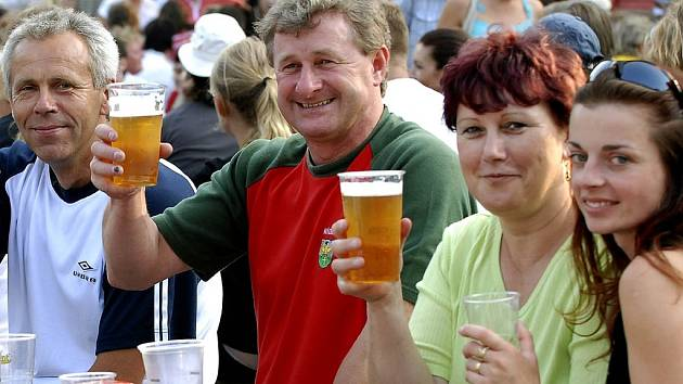 Bierfest 2007 v Nýdku.