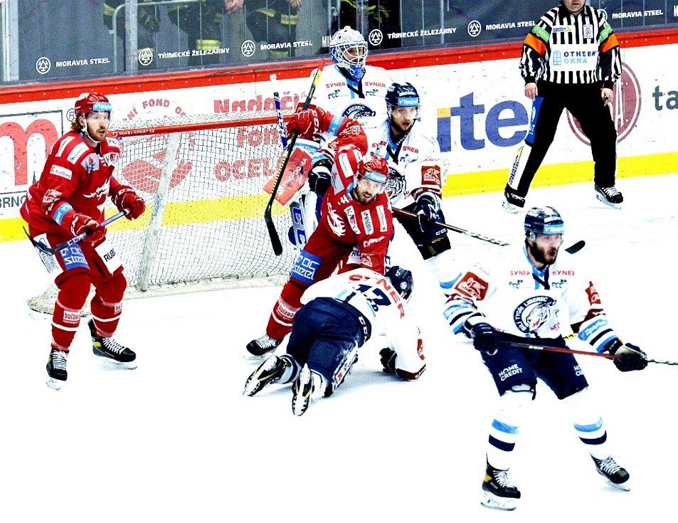 Oceláři, extraliga, Třinec, finále, 5. zápas, Liberec, play-off. Foto: Petr Rubal