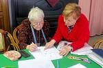 Katolický lidový dům ve Frýdku-Místku včera hostil akci, při které se senioři učili zdokonalit paměť.