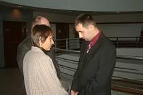 Marek Szkandera (vpravo) na archivním snímku.