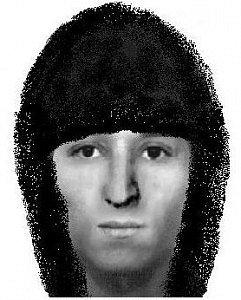 Identikit muže, který s pistolí v ruce přepadl dvě provozovny.