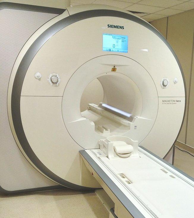 Nová magnetická rezonance ve frýdecké nemocnici.