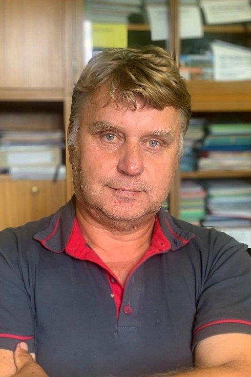 Starosta Raškovic Jiří Blahuta.