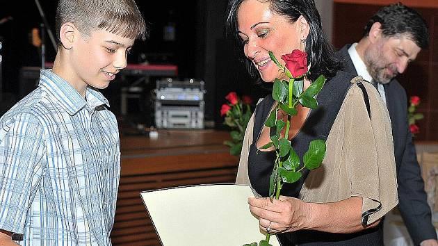 Talent 2011. Cenu dostává Martin Madzia, žák 7. třídy Jubilejní Masarykovy ZŠ Třinec.