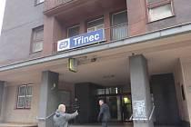 Zahájení rekonstrukce železniční stanice v Třinci.