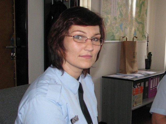 Manažerka prevence Městské policie ve Frýdku-Místku Lenka Biolková.