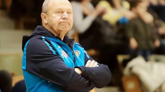 Trenér frýdecko-místeckých házenkářů Jiří Kekrt mohl být po výhře nad Lovosicemi spokojen.