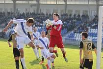 Fotbalisté Frýdku-Místku zdolali na domácím trávníku dalšího z favoritů na postup do první ligy, když díky gólu Vašendy vyhráli nad Znojmem 1:0.