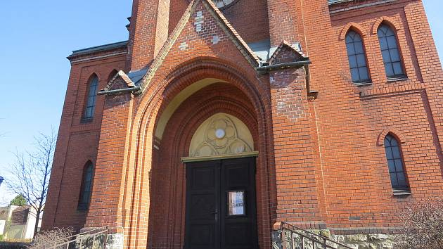 Evangelický kostel ve Frýdku.