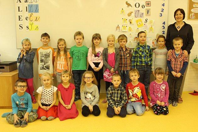 Třída 1.Aze Základní školy Paskov. Třídní učitelkou je Michaela Šnýdrová.