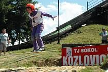 Desátý ročník Beskydského turné ve skoku na lyžích v Kozlovicích 2008.