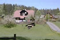 Typická hamerská osada.