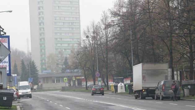 Smogem zahalený Frýdek-Místek.
