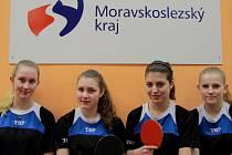 Stolní tenistky SK Frýdlant nad Ostravicí B vyhrály druhou ligu.