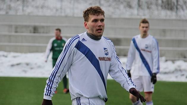Martin Bačík v akci.