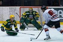 Frýdecko-místečtí hokejisté v posledním utkání prohráli na ledě VHK Vsetín 1:2. Ilustrační foto.
