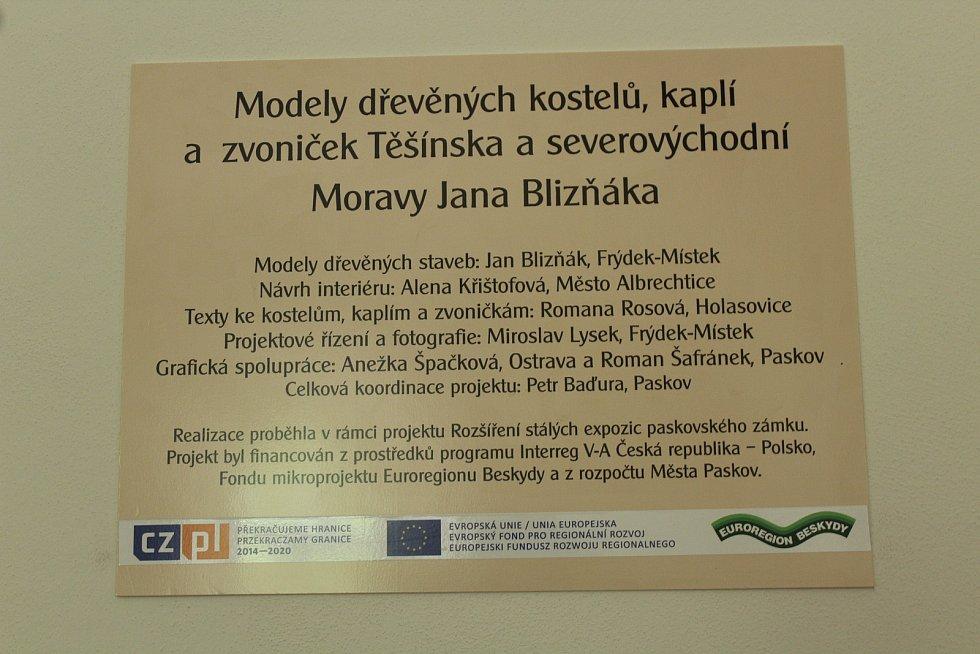 Zámek a zámecký park, Paskov.