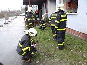 Místo, kde v paskovském překladovém terminálu došlo k výbuchu celnice.