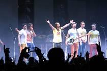 Koncert kapely Kryštof ve Frýdku-Místku.