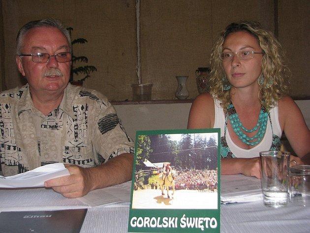 V Jablunkově připravují už pětašedesátý ročník unikátního festivalu Gorolski Święto. Podrobnosti představili organizátoři na tiskové konferenci v Domě PZKO.