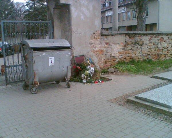 Jedna z fotografií jimiž argumentuje Tomáš Hanzlík.