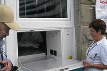 Babybox nemocnice ve Frýdku-Místku