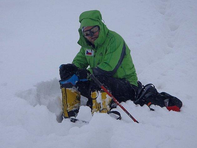 Horolezec Libor Uher