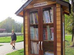 Knihobudka ve Frýdlantě nad Ostravicí.