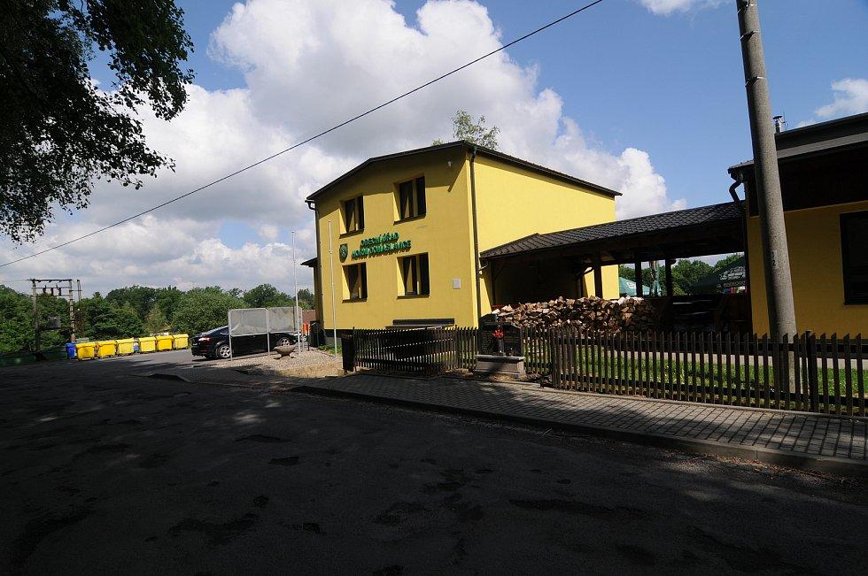Obecní úřad v Horních Domaslavicích.