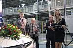 Nošovická automobilka Hyudai slaví 300 000. sériově vyroběný vůz.