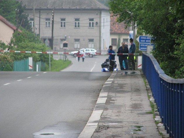 Poškozený most musel být uzavřen