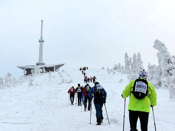 Extrémní závod 24hodin na Lysou horu.