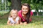 Eva Čavoj založila cvičení pro maminky s dětmi v Třinci. Foto: archiv Evy Čavoj