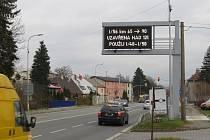 Proměnné dopravní značky jsou také ve Frýdku-Místku.