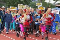 Olympiáda v lehké atletice pro mládež s mentálním postižením.