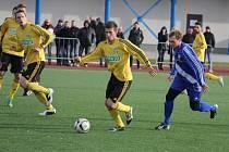 V úvodním kole zimního turnaje Tipsport liga zvítězili fotbalisté Frýdku-Místku nad Karvinou 3:1.