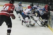 Hokejisté Frýdku-Místku podlehli v derby utkání Karviné 1:5.