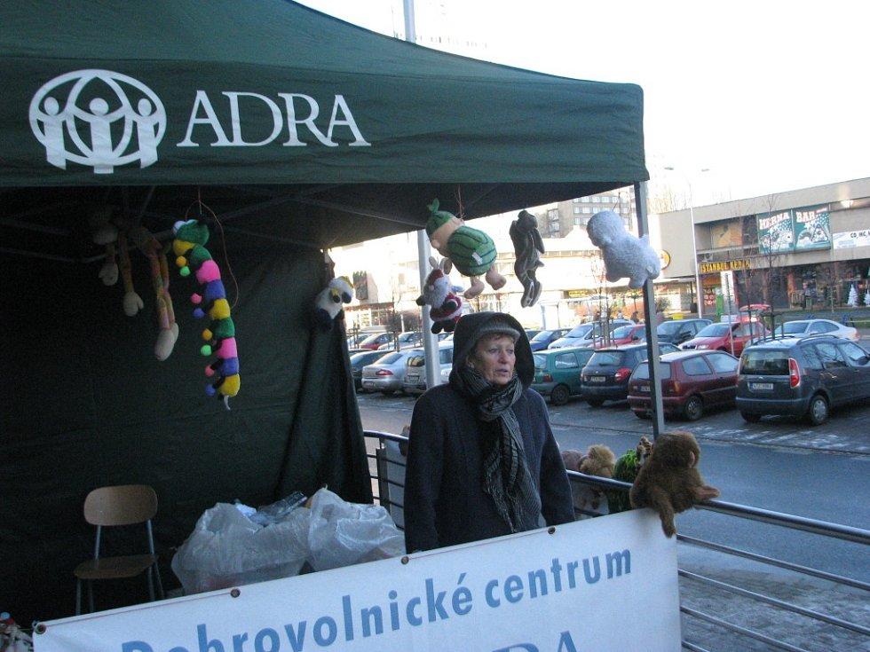 ADRA prodávala plyšáky.