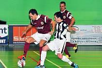 V nejvyšší futsalové soutěži nestačili hráči třineckého Likopu na loňského vícemistra z Teplic.