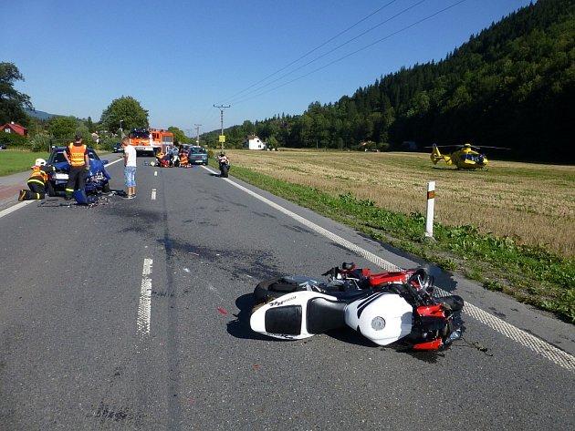 Tragická nedělní nehoda u Ostravice