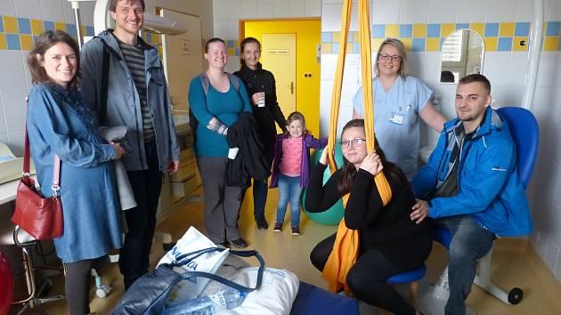 Den otevřených dveří porodního a novorozeneckého oddělení v Třinci.
