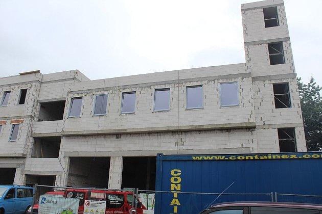 VJablunkově vzniká nová budova integrovaného výjezdového centra.